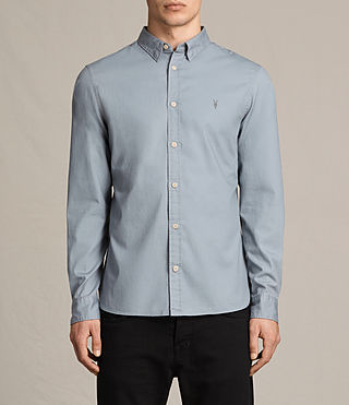 Uomo Redondo Ls Shirt (SHADOW BLUE) -