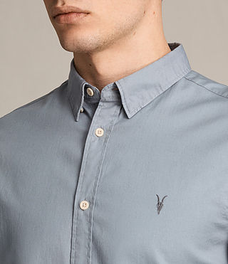 Men's Redondo Ls Shirt (SHADOW BLUE) - product_image_alt_text_2