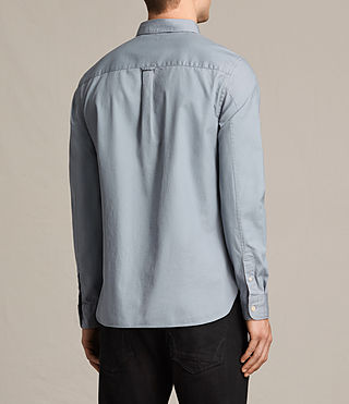 Men's Redondo Ls Shirt (SHADOW BLUE) - product_image_alt_text_5