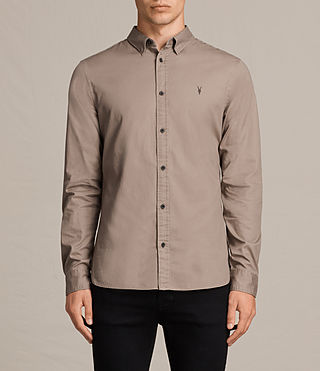 Men's Redondo Shirt (SHALE BROWN) - product_image_alt_text_1