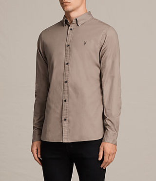Uomo Redondo Shirt (SHALE BROWN) - product_image_alt_text_3