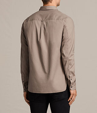 Uomo Redondo Shirt (SHALE BROWN) - product_image_alt_text_4