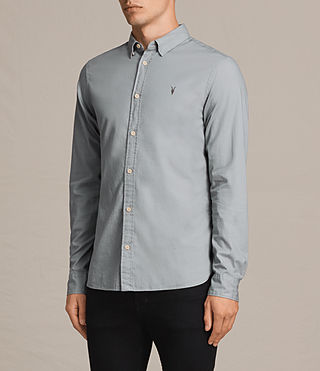 Mens Redondo Shirt (CHROME BLUE) - Image 3