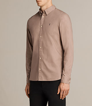 Hombre Redondo Shirt (MUSHROOM PINK) - product_image_alt_text_3