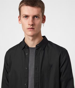 Mens Redondo Shirt (Black) - product_image_alt_text_4