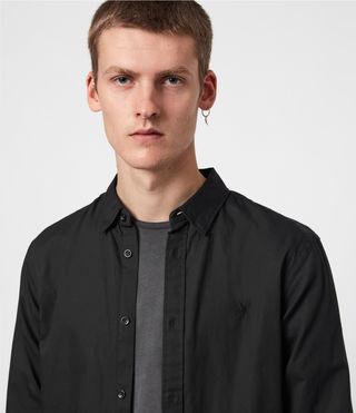 Uomo Redondo Shirt (Black) - product_image_alt_text_4