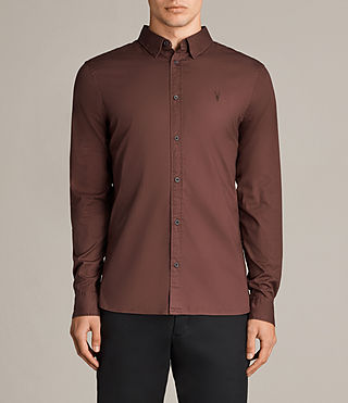 Men's Redondo Shirt (CAVALRY RED) - Image 1