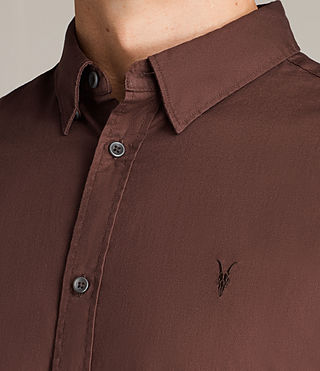 Men's Redondo Shirt (CAVALRY RED) - Image 2