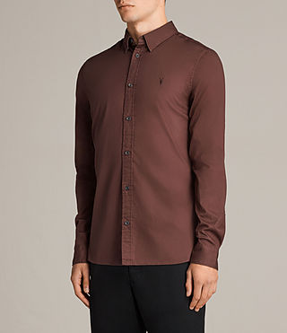 Men's Redondo Shirt (CAVALRY RED) - Image 3