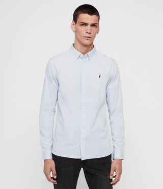 Herren Redondo Ls Shirt (Light Blue)