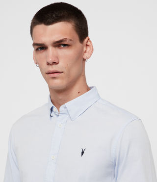 Mens Redondo Shirt (Light Blue) - product_image_alt_text_2