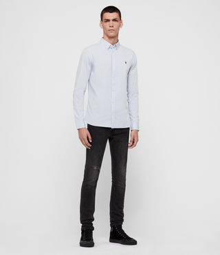 Men's Redondo Shirt (Light Blue) - product_image_alt_text_3