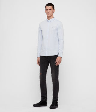 Men's Redondo Shirt (Light Blue) - product_image_alt_text_4