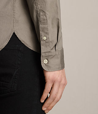 Men's Redondo Shirt (Taupe) - product_image_alt_text_4