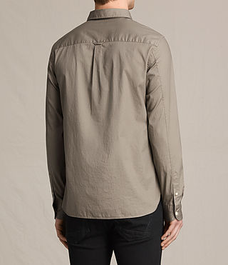 Men's Redondo Shirt (Taupe) - product_image_alt_text_5