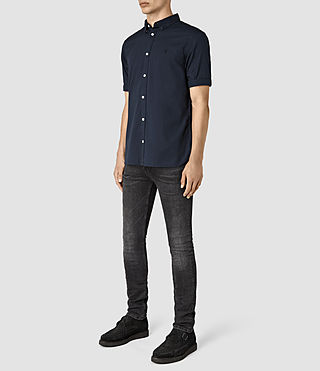 Hommes Redondo Half Sleeved Shirt (INK NAVY) - product_image_alt_text_2