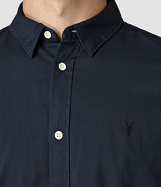 Hombres Redondo Half Sleeved Shirt (INK NAVY) - product_image_alt_text_4