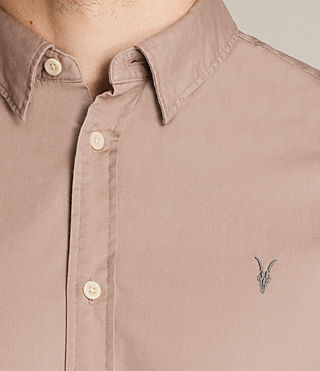 Men's Redondo Half Sleeved Shirt (MUSHROOM PINK) - product_image_alt_text_2