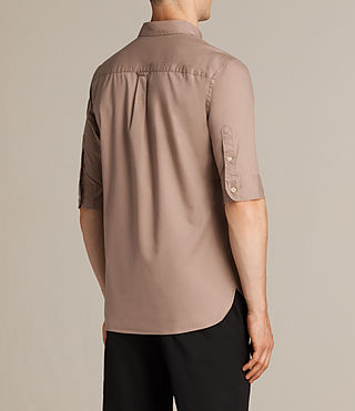 Men's Redondo Half Sleeved Shirt (MUSHROOM PINK) - product_image_alt_text_4