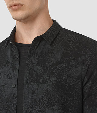 Uomo Termo Ls Shirt (Charcoal) - product_image_alt_text_2