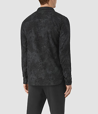 Uomo Termo Ls Shirt (Charcoal) - product_image_alt_text_4