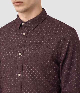 Men's Cresco Shirt (Damson) - product_image_alt_text_2