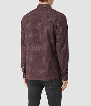 Men's Cresco Shirt (Damson) - product_image_alt_text_4