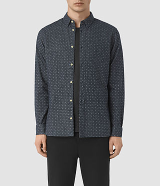 Herren Cresco Shirt (Midnight Blue) -