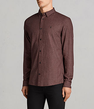 Uomo Camicia Ralston (BURNT RED) - Image 3