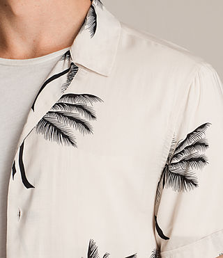 Men's Offshore Short Sleeve Shirt (ECRU WHITE) - product_image_alt_text_2