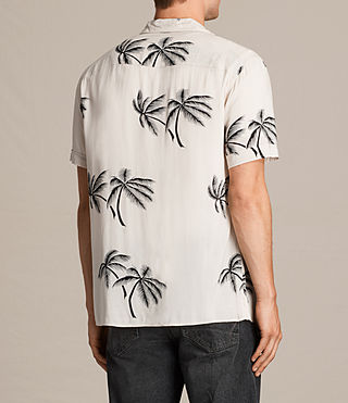 Men's Offshore Short Sleeve Shirt (ECRU WHITE) - product_image_alt_text_4