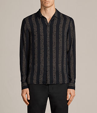 Mens Santiago Shirt (Dark Ink) - Image 1