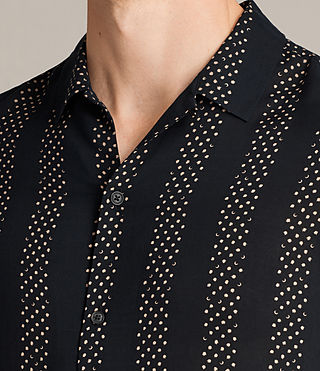 Mens Santiago Shirt (Dark Ink) - Image 2