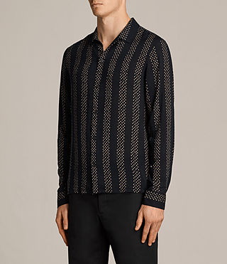 Mens Santiago Shirt (Dark Ink) - Image 3