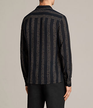Mens Santiago Shirt (Dark Ink) - Image 4