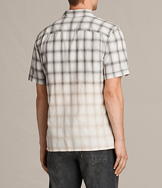 Men's Caldwell Short Sleeve Shirt (ECRU WHITE) - product_image_alt_text_4