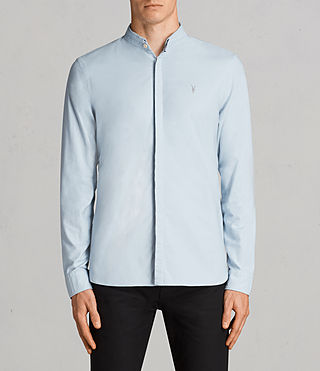 Hombres Camisa Augusta (Sky Blue) - Image 1