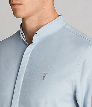 Hombres Camisa Augusta (Sky Blue) - Image 2