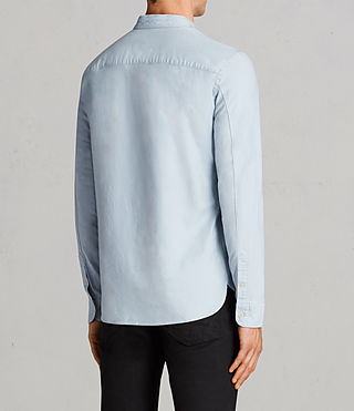 Hombres Camisa Augusta (Sky Blue) - Image 4