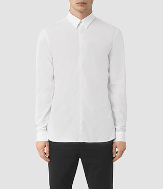 Mens Paylor Shirt (White) - product_image_alt_text_1