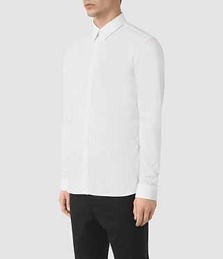 Mens Paylor Shirt (White) - product_image_alt_text_2