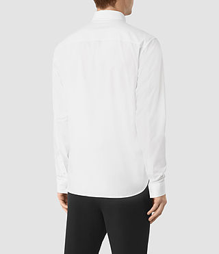 Hombres Paylor Shirt (White) - product_image_alt_text_3