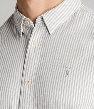 Mens Berwick Shirt (Grey/White) - Image 2