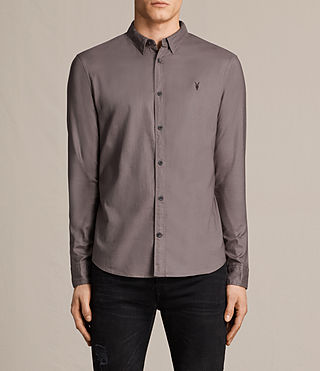 Mens Topanga Shirt (Slate Grey) - product_image_alt_text_1