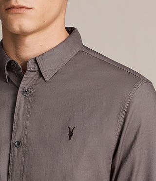 Mens Topanga Shirt (Slate Grey) - product_image_alt_text_2