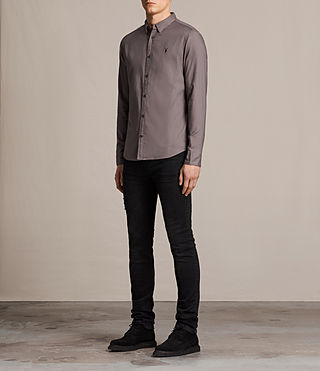 Mens Topanga Shirt (Slate Grey) - product_image_alt_text_3