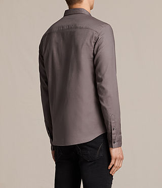 Mens Topanga Shirt (Slate Grey) - product_image_alt_text_5