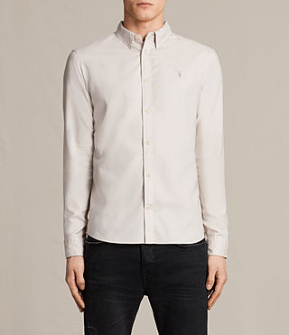 Mens Topanga Shirt (ECRU WHITE)