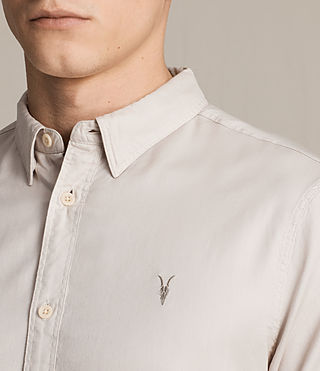 Men's Topanga Shirt (ECRU WHITE) - product_image_alt_text_2