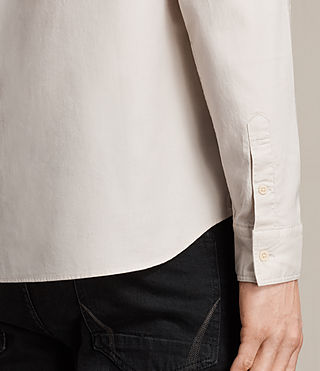 Men's Topanga Shirt (ECRU WHITE) - product_image_alt_text_4